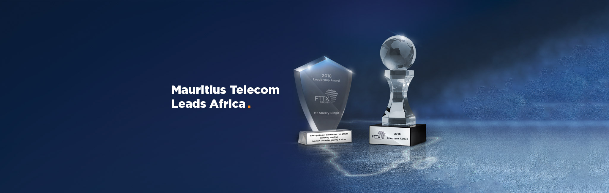 FTTX Council Africa 2018 – Mauritius Telecom grand lauréat