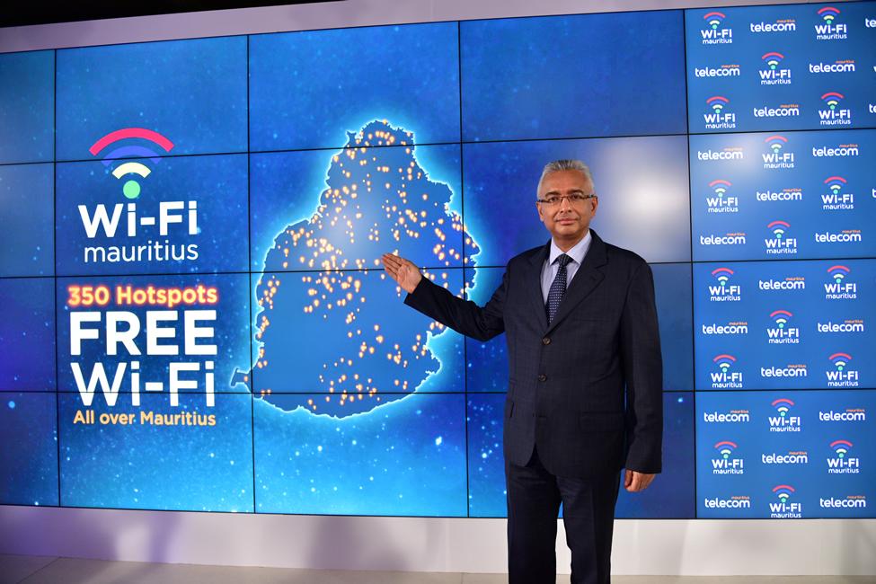 Launch of Wi-Fi Mauritius